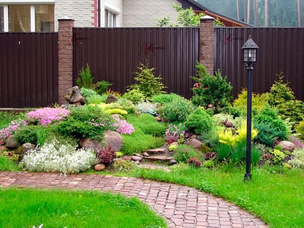 Ландшафт садового участка фото
