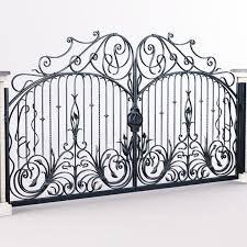 фото кованных ворот