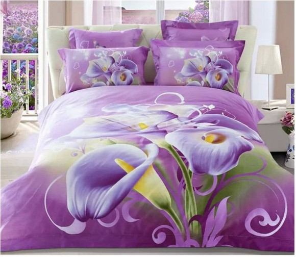 3D-Purple-floral-font-b-bedding-b-font-bedsheets-sets-king-queen-size-duvet-cover-bedspread
