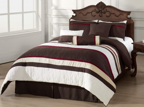 7pc_comforter_set_burgundy_beige_brown_white_stripes_mosaico_king_size_bed_in_a_bag_64cbf54f