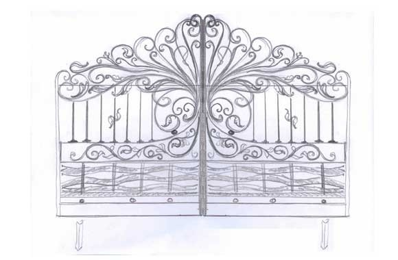 drawing___wrought_iron_gate_580x380