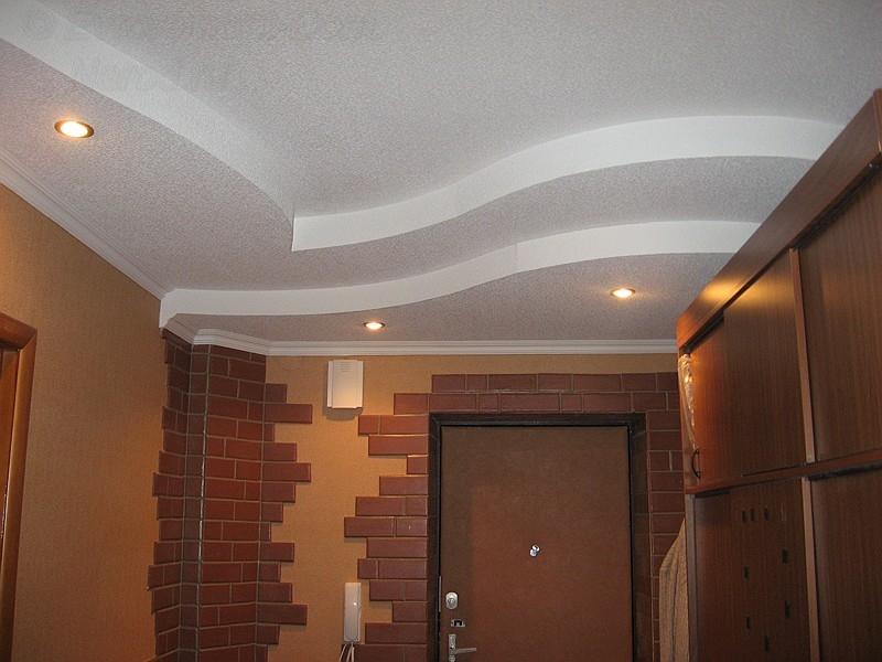 Узорные потолки