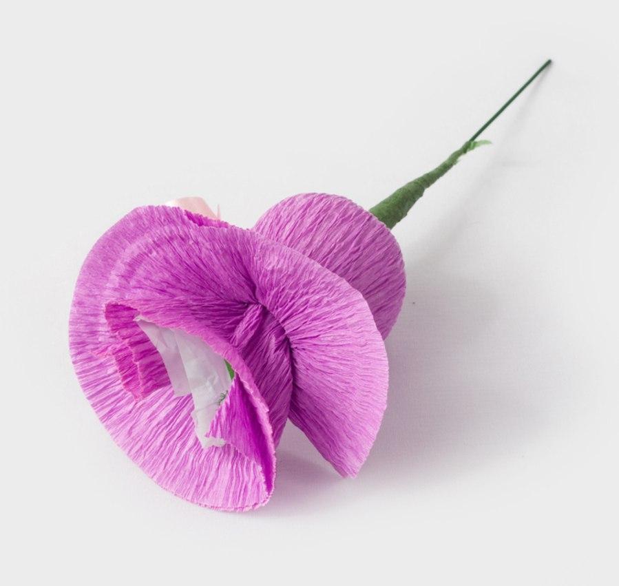 Цветы из конфет сделать своими руками