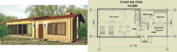 Проекты бань с террасой и барбекю: фото, планировка, месторасположения