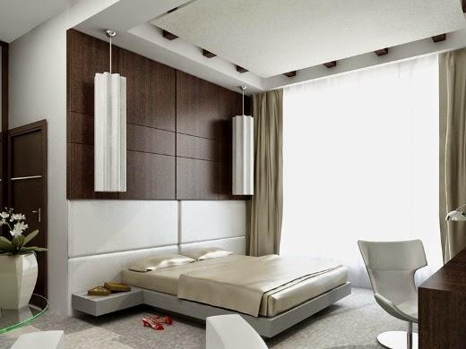 Plasterboard -ceilings- in- the- bedroom3