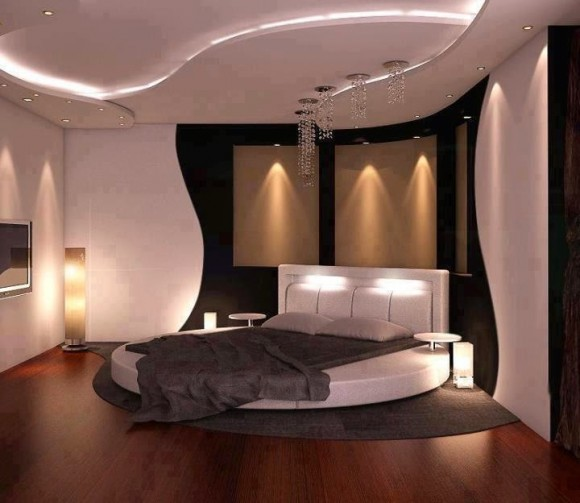 Plasterboard -ceilings- in- the- bedroom7