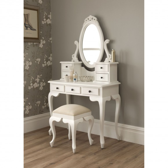 antique-vanity-table-with-mirror