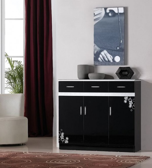 black-shoe-cabinet-design-idea